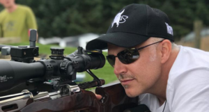 F Class shooter Gary Costello from March Scopes Europe set the UK record