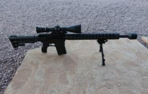 Dave Lauck (USA) – Semi auto precision rifle, MR 30 rifle, Compact 308 win and Long Range 338 Lapua with March Scope 2.5-25×52