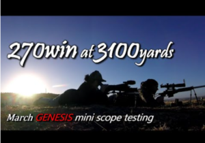 4-40×52 Mini Genesis Scope video review by MarkandSam AfterWork