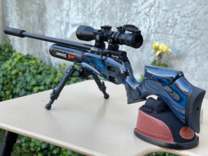 Claudio Flores shooting March 4.5-28×52 with a beautiful Airgun (Chile) – Article written in Spanish and in English