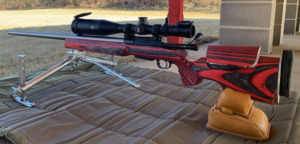 10x-60x56mm March scope on Ryan Crozier's beautiful rifle (Canada)