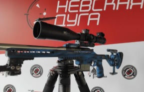 Beautiful setup with 5-42×56 March Scope (Russia)