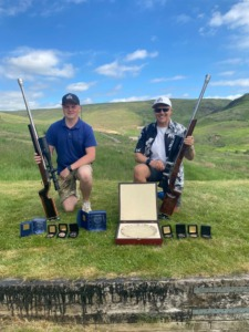 Congratulations to Gary Costello (1st) and Tom Reynolds (2nd, 18 years old) at 1000yards GB National (UK)