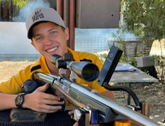 15 year old Josh Russell shot the smallest 5 shot group at 200 yards in LV class (Australia)