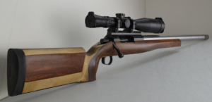 A beautiful custom rifle built by Craig Whittleton with March 5-40×56 Scope (Australia)
