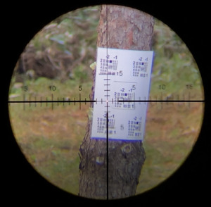 Part 3 : Actual examples through videos and pictures – The reason March chose a Dual tree reticle over a FFP reticle for 1-10×24 Shorty FFP scope